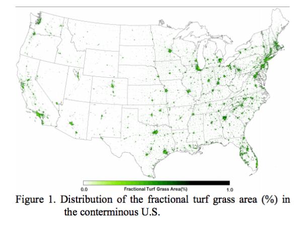 grass lawn map