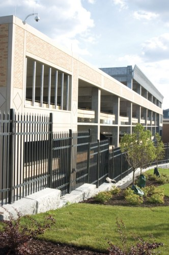 Metropolitan State University's new parking ramp