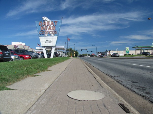 Missing Street Light on Lyndale