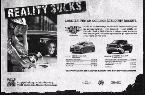 General Motors Ad