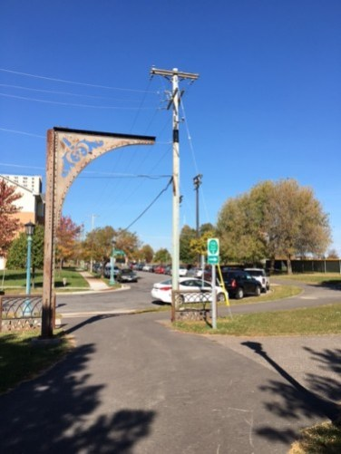Site of first proposed Nice Ride station at Griggs and Carroll, viewed from the south