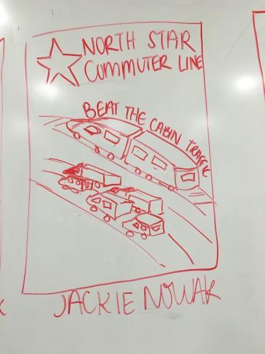 Northstar Commuter Line, Beat the Cabin Traffic (Jackie Nowak)