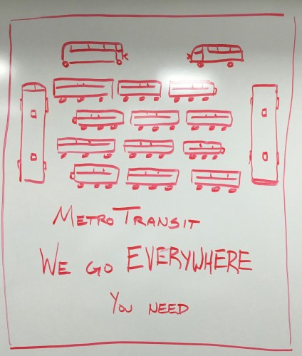Metro Transit: We go EVERYWHERE you need.