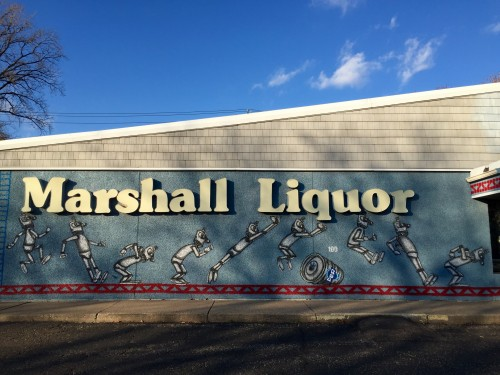 Mural on Marshall Liquors