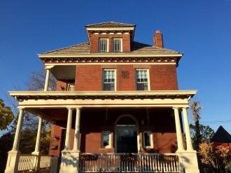 Brick home on Marshall Avenue