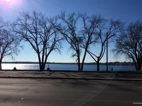 A view of Bde Maka Ska (Lake Calhoun) from Lake Street