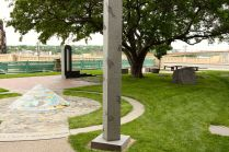 According to the Saint Paul Foundation, the garden consists of six separate displays of sculpture and poetry featuring historically significant cultural groups.