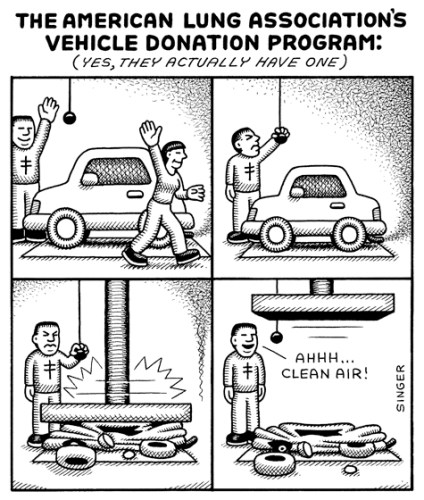 The American Lung Association's Vehicle Donation Program