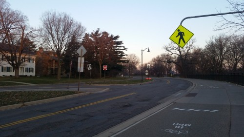 Drivers are getting better at stopping at this crosswalk.