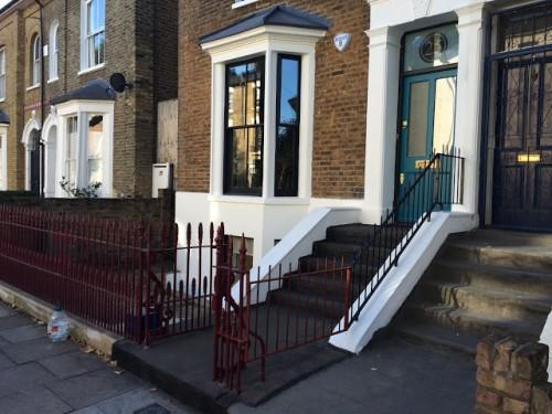 front door London Hackney