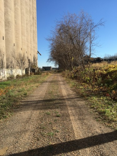 Prospect Park North by United Crushers Grain Elevator (5th St extended)
