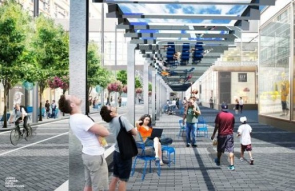 Nicollet Mall Project Rendering