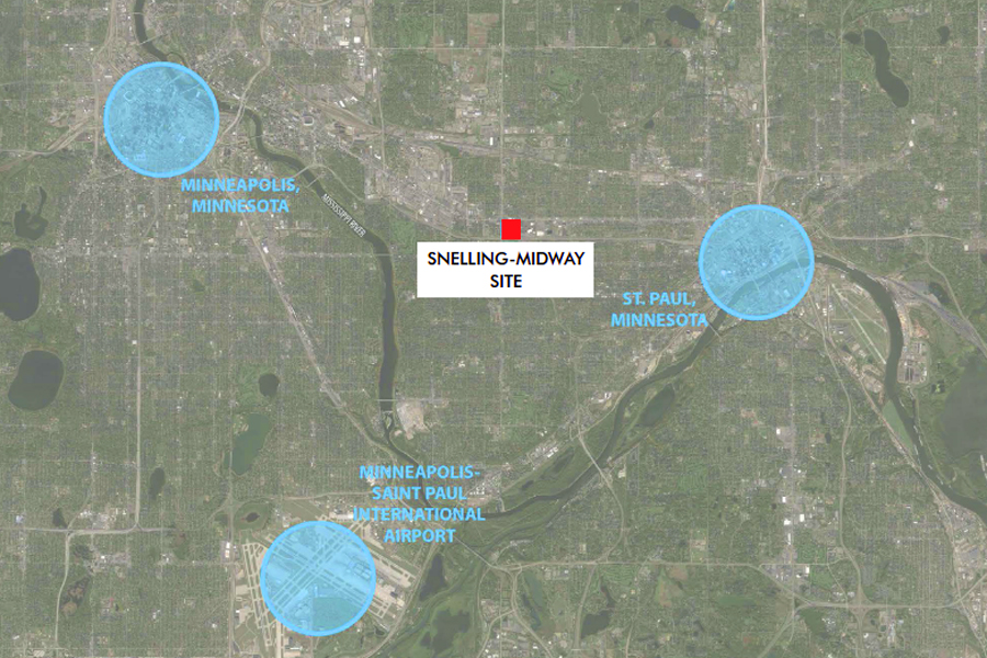 snelling mideway site location