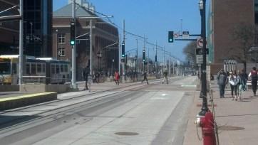 Green Line at Washington Avenue.
