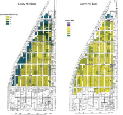 LHENA 2004 rezoning maps