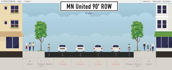 MN United 90' ROW