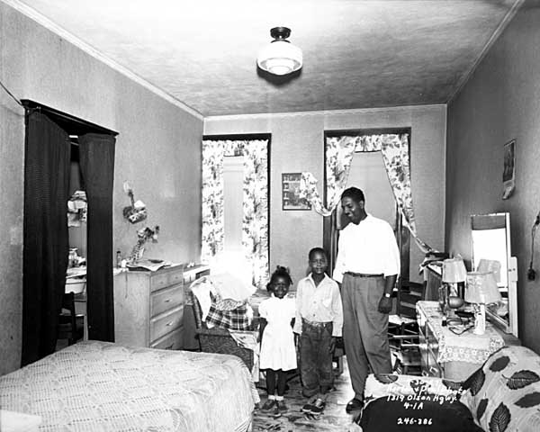family apartment going to be demod 1957