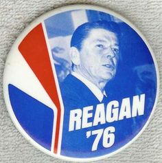 reagan 76 button