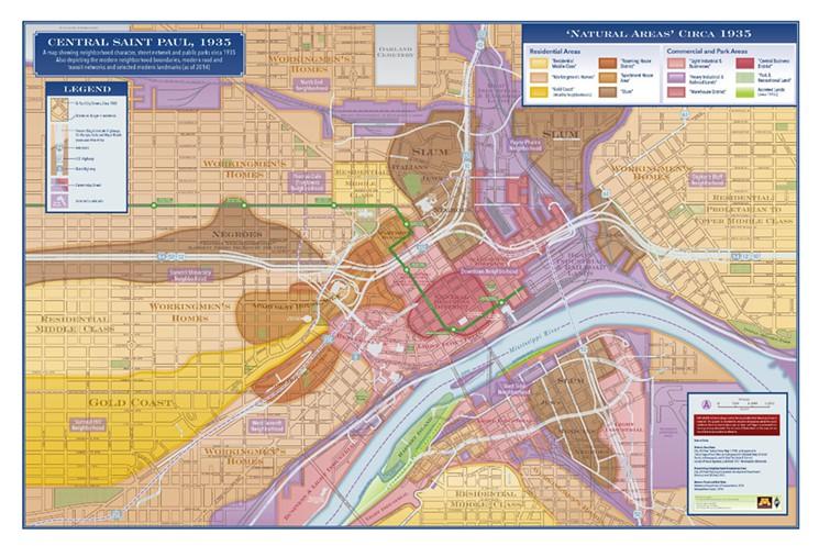 saint paul slum map color