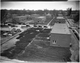 Sumner Field public housing in 1938.