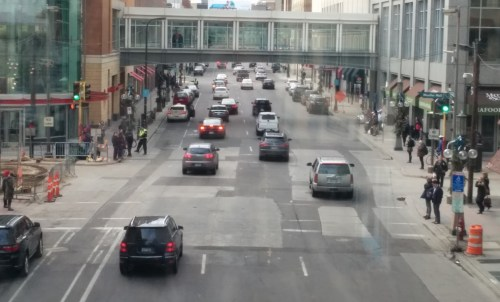 Ninth Street and Nicollet Mall