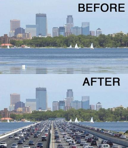 Lake Calhoun Causeway?