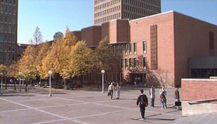 UMN west bank campus