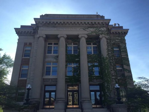 Johnston Hall at the University of Minnesota