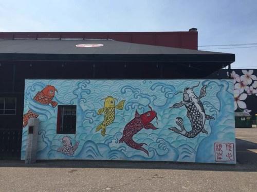 Fuji Ya mural