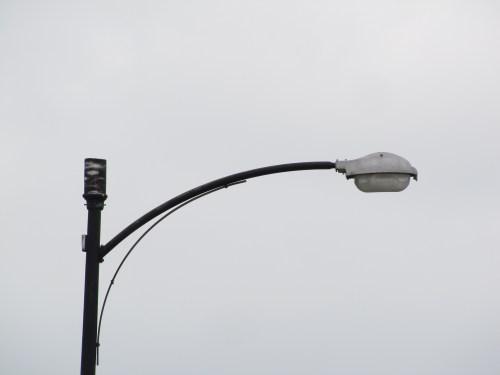 "Westinghouse OV20 ""Clamshell"" Streetlight."