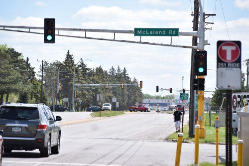 Photo of McCleland Road & Veteran's Drive intersection