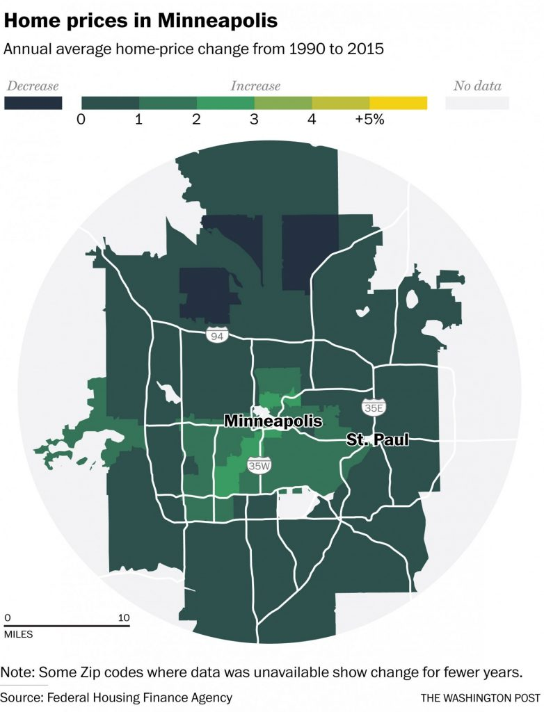 mpls new home prices map