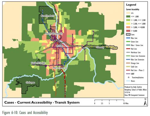 Jobs and transit accessibility