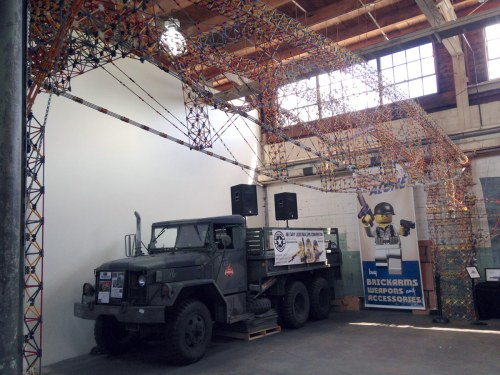 KNEX machine at Brickmania