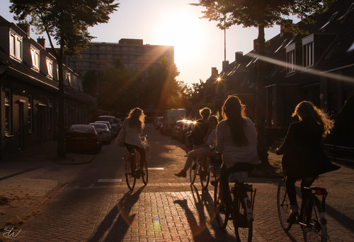 Carefree summer cycling