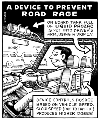 A Device to Prevent Road Rage