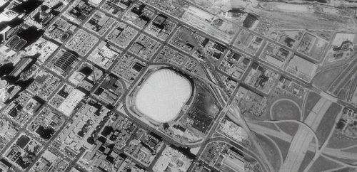 Satellite View of Minneapolis in 1991
