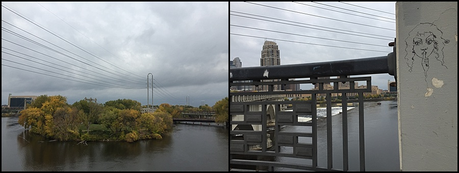 The view from the west side of Third Avenue Bridge