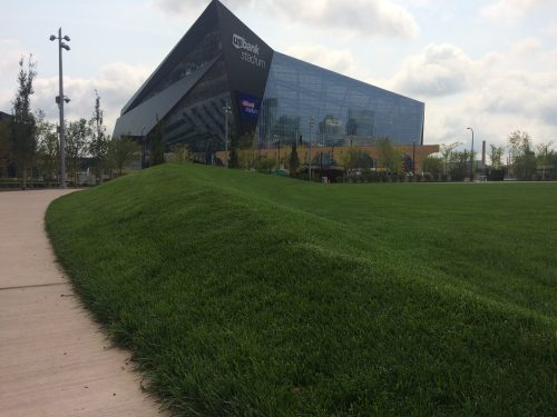 "The ""Zygi View,"" Complete With Berm"