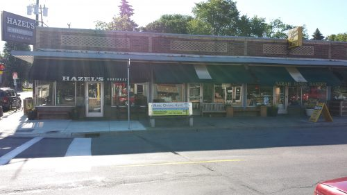Johnson Street NE at its Southeastern Corner with 29th Ave NE