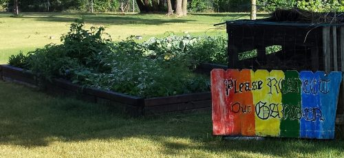 """East Side Community Youth Garden: """"Please Respect Our Garden"""""""