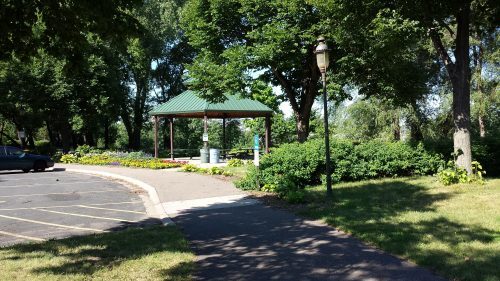 Gazebo at Gluek Park