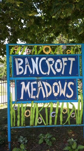 Bancroft Meadows Sign