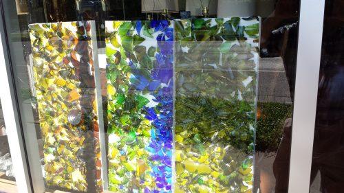 Broken Glass Art at Repurpose Republic