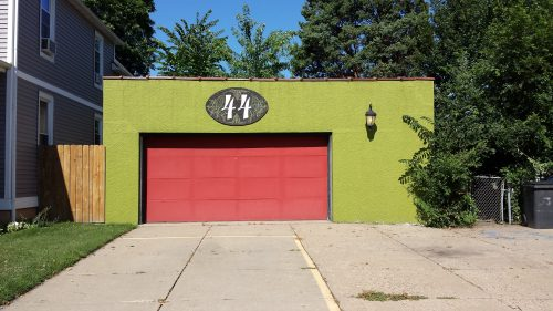 The Garage, on Grand Street, for 44 Lowry Ave NE