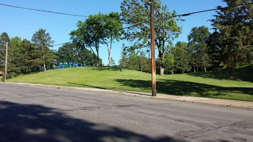 Much of Audubon Park Reflects its Hilly, Wooded Context