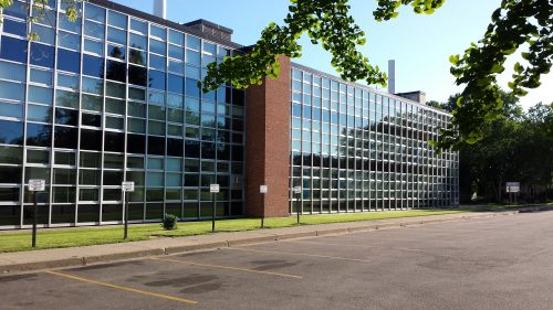 Northeast Middle School Windows