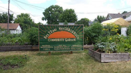 Beltrami Neighborhood Community Garden, 1213 Spring St NE