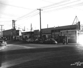 mpls nicollet and 26th 1949