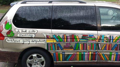 The Book Worm's Mini-Van (Photo 1 of 2)